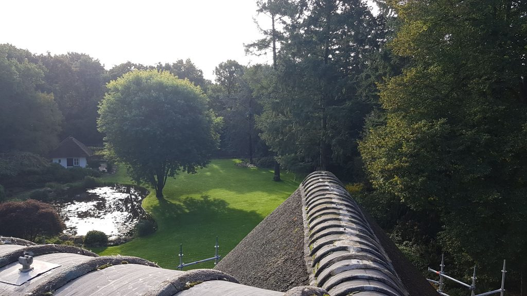 Rieten dak laten repareren